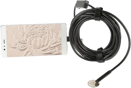 Opinión sobre Akozon USB Endoscopio, cámara de inspección de endoscopio 1.5Meter 5.5mm 720P cámara de serpiente IP67 impermeable con 6 luces LED ajustables