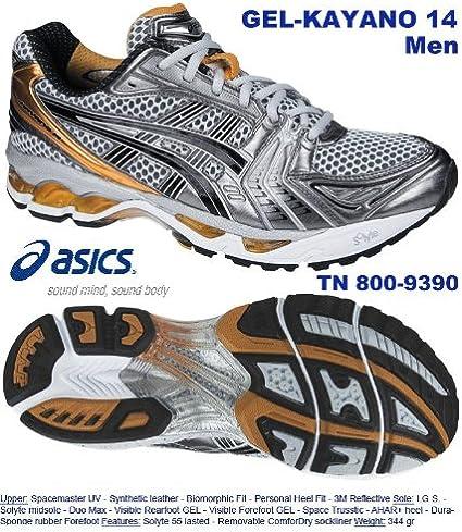 Mens Asics Gel Kayano 14 Running Shoes