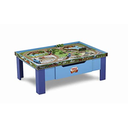 Thomas Wooden Railway Grow With Me Play Table from Fisher-Price  sc 1 st  Amazon.com & Amazon.com: Thomas Wooden Railway Grow With Me Play Table from ...