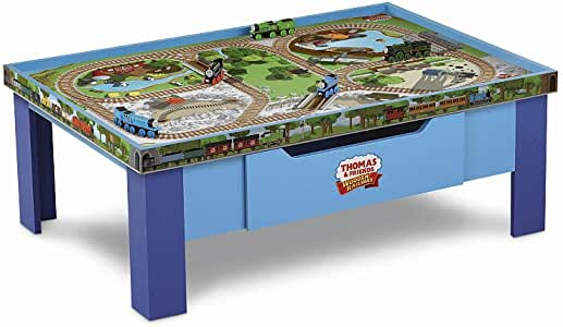 Thomas Wooden Railway Grow With Me Play Table from Fisher-Price