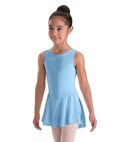 4e6f87155 Amazon.com   Motionwear Tank Sheer Skirted Comfort Dancer Leotard ...