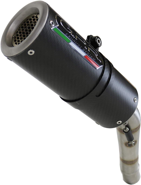 SCARICO GPR EXHAUST SYSTEM COMPATIBILE CON KAWASAKI ZX-10R 2004//05 TERMINALE SCARICO OMOLOGATO CON RACCORDO M3 CARBON