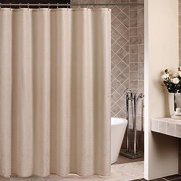 Showpower Rideau De Douche Tissu De Luxe Polyester Fleur Du