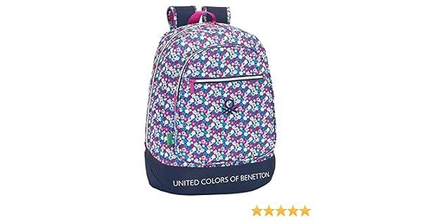 SAFTA United Colors Of Benetton Mochila Escolar, 46 cm: Amazon.es: Equipaje