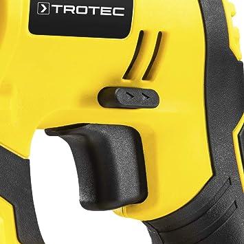 TROTEC Martillo perforador con bater/ía PRDS 20-20V