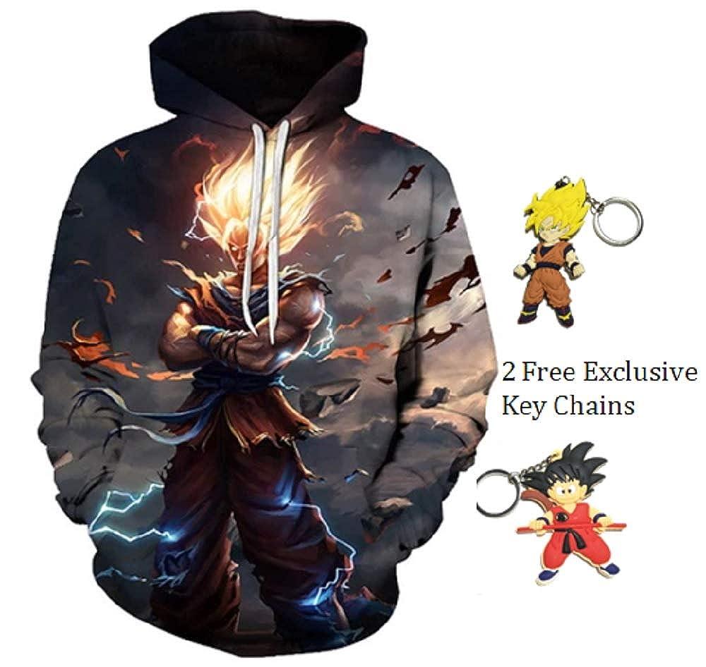 Amazon.com: LimJJ Dragon Ball Z Hoodie DBZ Goku - Sudadera ...