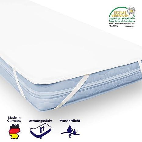 Matratzenschoner Matratzenauflage Babybett 70x140 Polyester Farbe beige