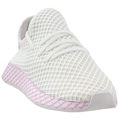 new concept a2eaf a4abf adidas Originals Deerupt Runner Shoe - Womens Casual 5 WhiteClear Lilac
