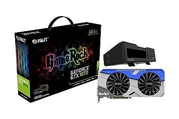 Palit NE51070T15P2GP - Placa Grafica NVIDIA GeForce GTX 1070 ...