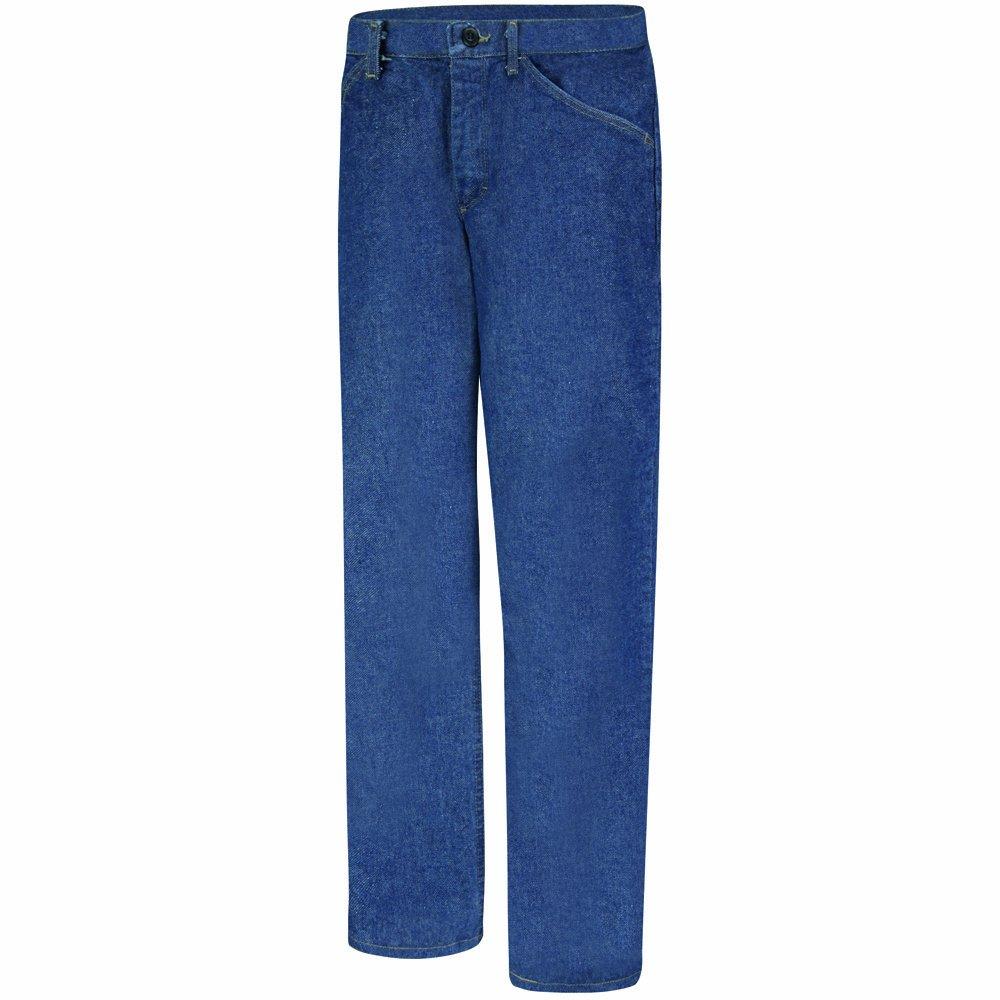 Bulwark Flame Resistant 14.75 oz Cotton Pre-Washed Denim Jean
