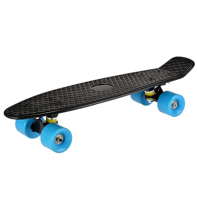 YUEBO Mini Cruiser Skateboard Plastico 22