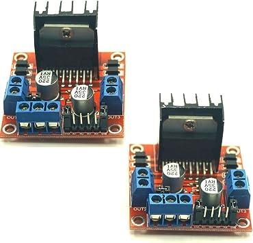Details about  /New L298N DC Stepper Motor Driver Module Dual H Bridge Control Board for Arduino
