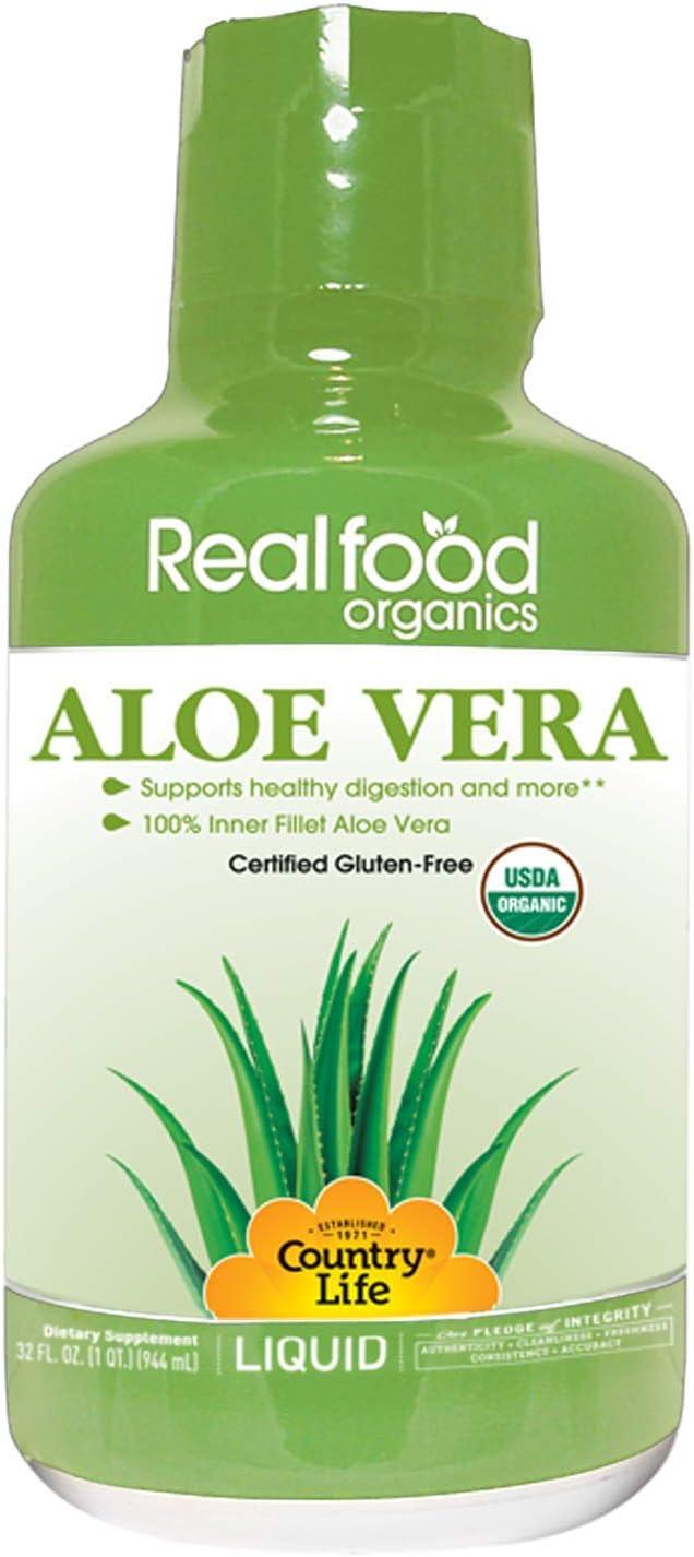 Country Life RFO Basic Aloe Liquid, 32 Ounce