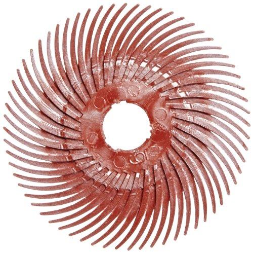 Scotch-Brite Radial Bristle Disc Thin Bristle, 2 in x 3/8 in 220, 80 per case