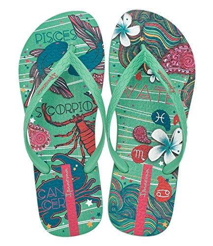 Ipanema Women's Flip Flops Mehrfarbig (green) zwlSMkcfY