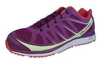 Salomon KALALAU W MYSTIC Zapatillas para Correr Trail Running Purpura para Mujer: Amazon.es: Zapatos y complementos