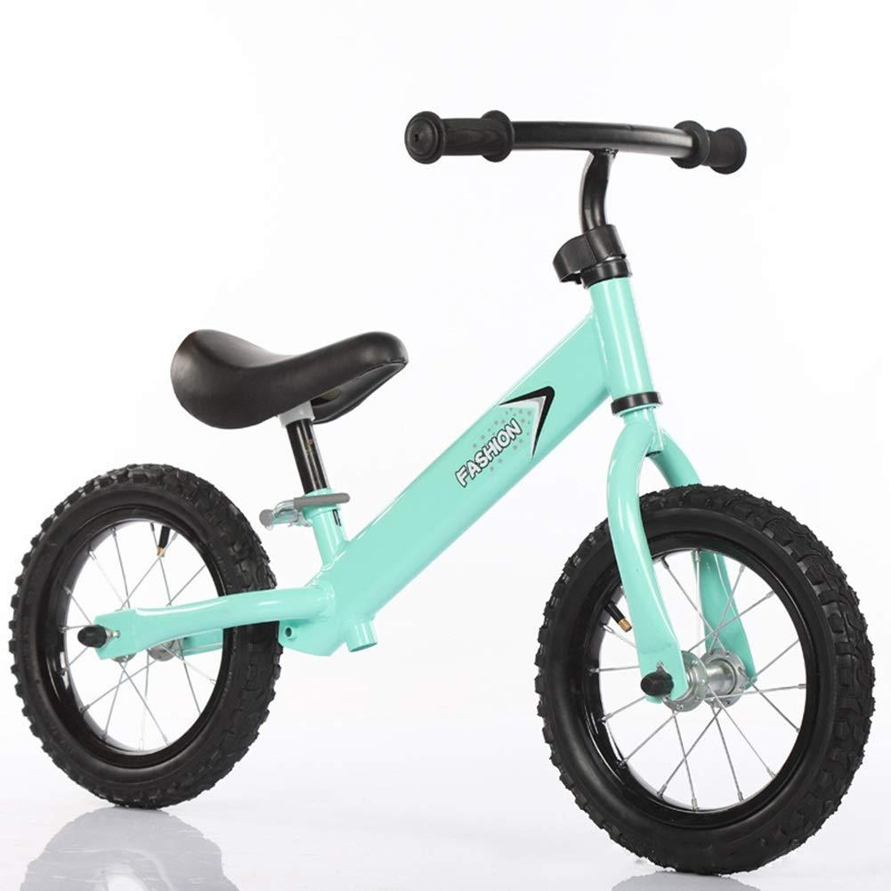 toma Equilibrio Bicicleta sin Pedales Balance Bike No Pedal para para para Niños1, 2, 3, 4, 5, 6 Años, Bicicleta Neumática Neumática De 12  para Niños ( Color   verde )  los últimos modelos