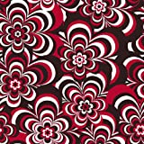 Crafty Cuts 1.5 Yards Fleece Fabric, Irregular Floral