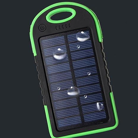 Cargador Solar 8000MAH Batería externa de Batería de ...