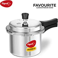 Pigeon By Stovekraft Favourite Induction Base Aluminium Pressure Cooker with Outer Lid
