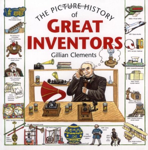 The Picture History of Great Inventors by Frances Lincoln Children's Books (Image #2)