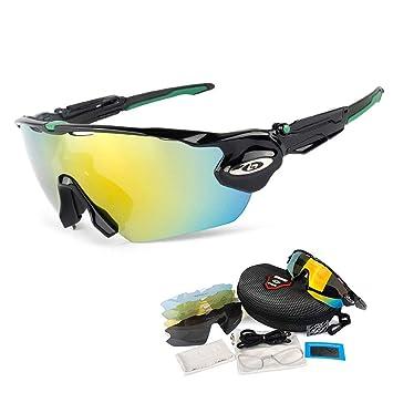 447f4b3f9d OPEL-R Gafas de Ciclismo de Deportes al Aire Libre, Gafas MTB Polarizadas a