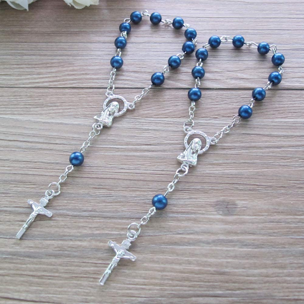 """MINI BIBLE BLUE ROSARY FOR 18/"""" AND 15/"""" AMERICAN GIRL DOLL CHILD ACCESSORIES"""