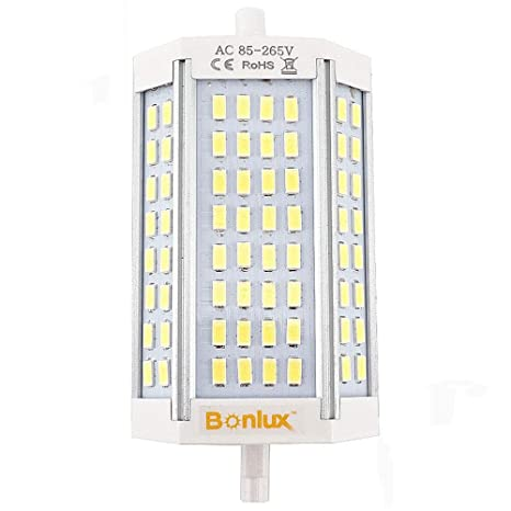 Bonlux R7S 118 mm LED de intensidad regulable bombilla 30 W, 200 W, R7s