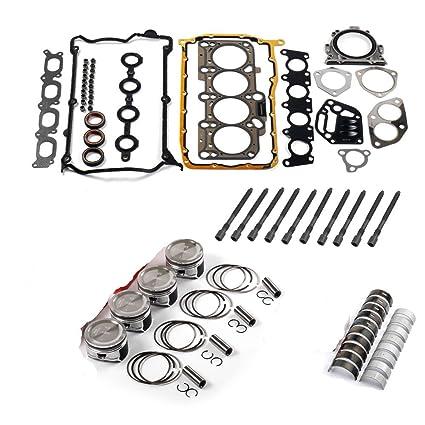 Amazon.com: BoCID Engine Pistons Rings Rebuild Set For VW Jetta Beetle Golf GTI 1.8 Turbo AWP AWM: Automotive