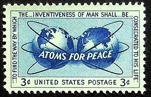 -Framed Postage Stamp Art 13208 (Peace Postage)