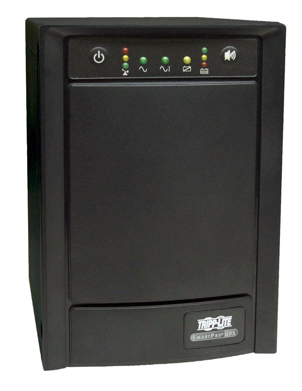 Tripp Lite SMART1500SLT 1500VA 900W UPS Smart Tower AVR 120V USB DB9 SNMP for Servers, 8 Outlets by Tripp Lite