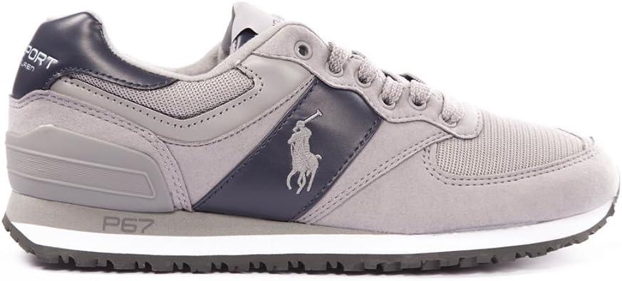 Polo Ralph Lauren - Zapatillas de Deporte para Hombre, Gris (Gris ...