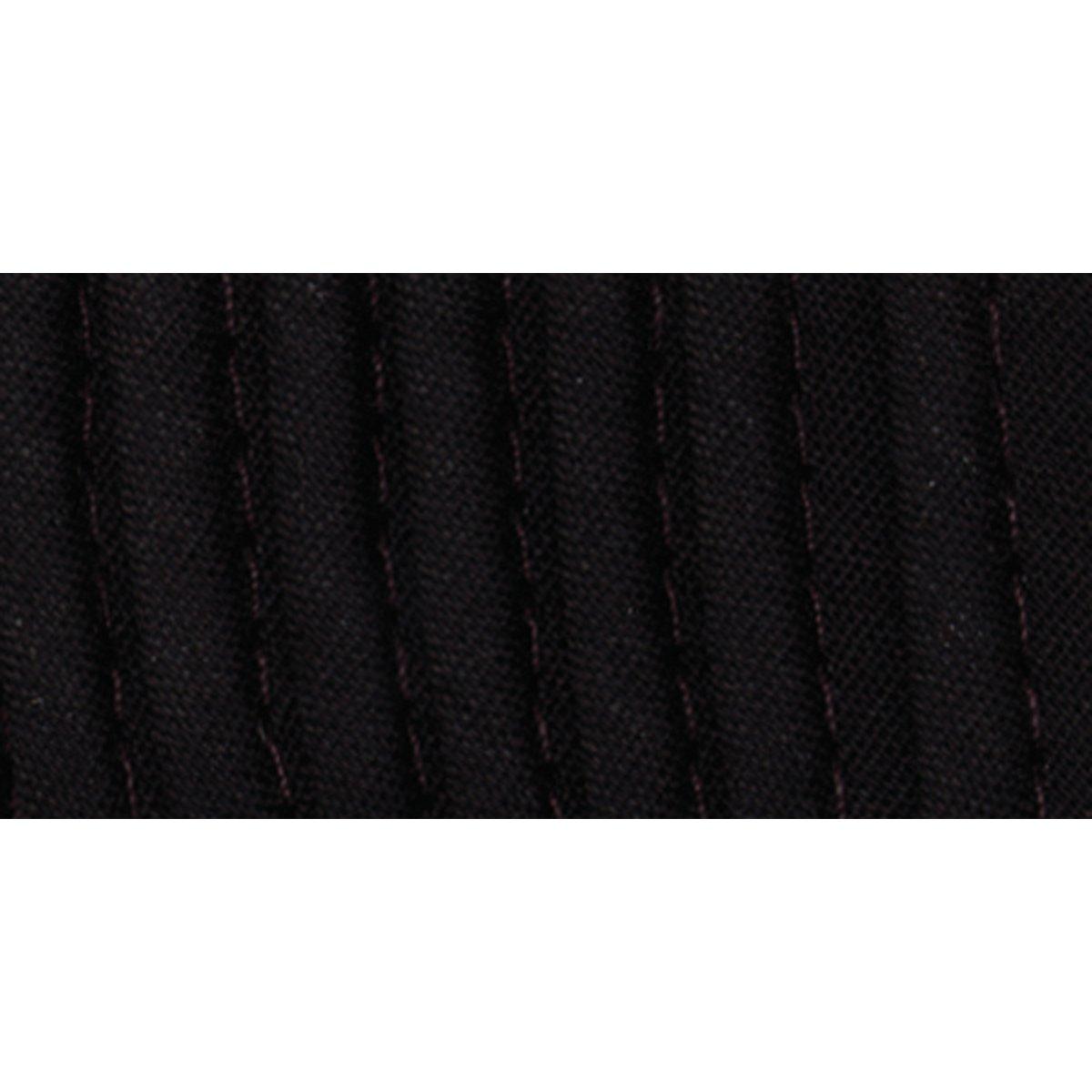 Black 2.5-Yard Wrights 117-303-031 Maxi Piping Bias Tape