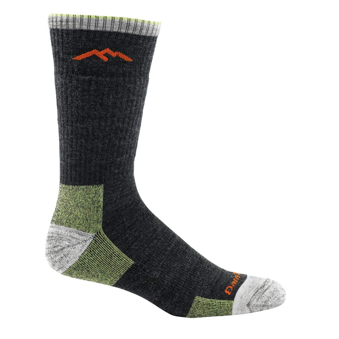 Darn Tough Merino Wool Boot Socks Cushion - Men's Lime Medium by Darn Tough