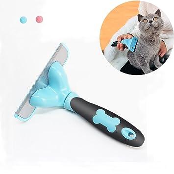 RCRuning-EU Cepillo para Mascota Perros Grandes y Gatos Peine Largo y Corto Perro Pequeños Mediano-Blue: Amazon.es: Productos para mascotas