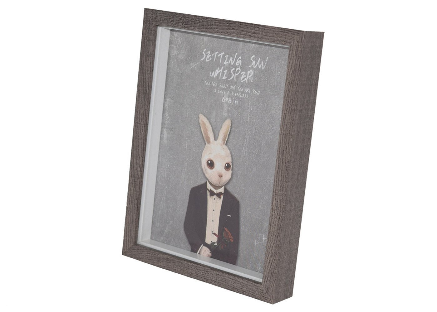Kingsnow Wood Picture Frame, 6x8 Inch,