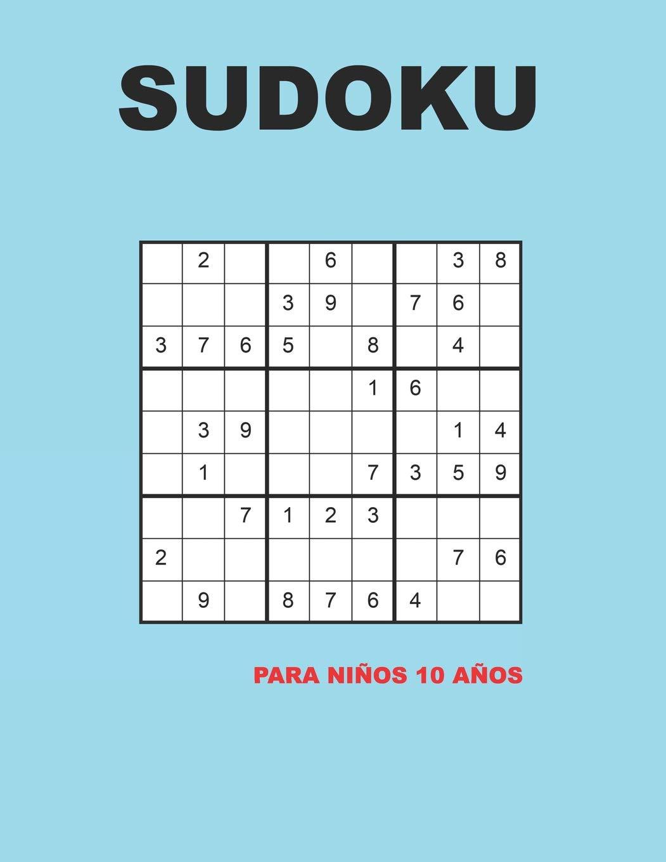 Sudoku para niños 10 años: 150 Adivinanza - fácil - medio ...