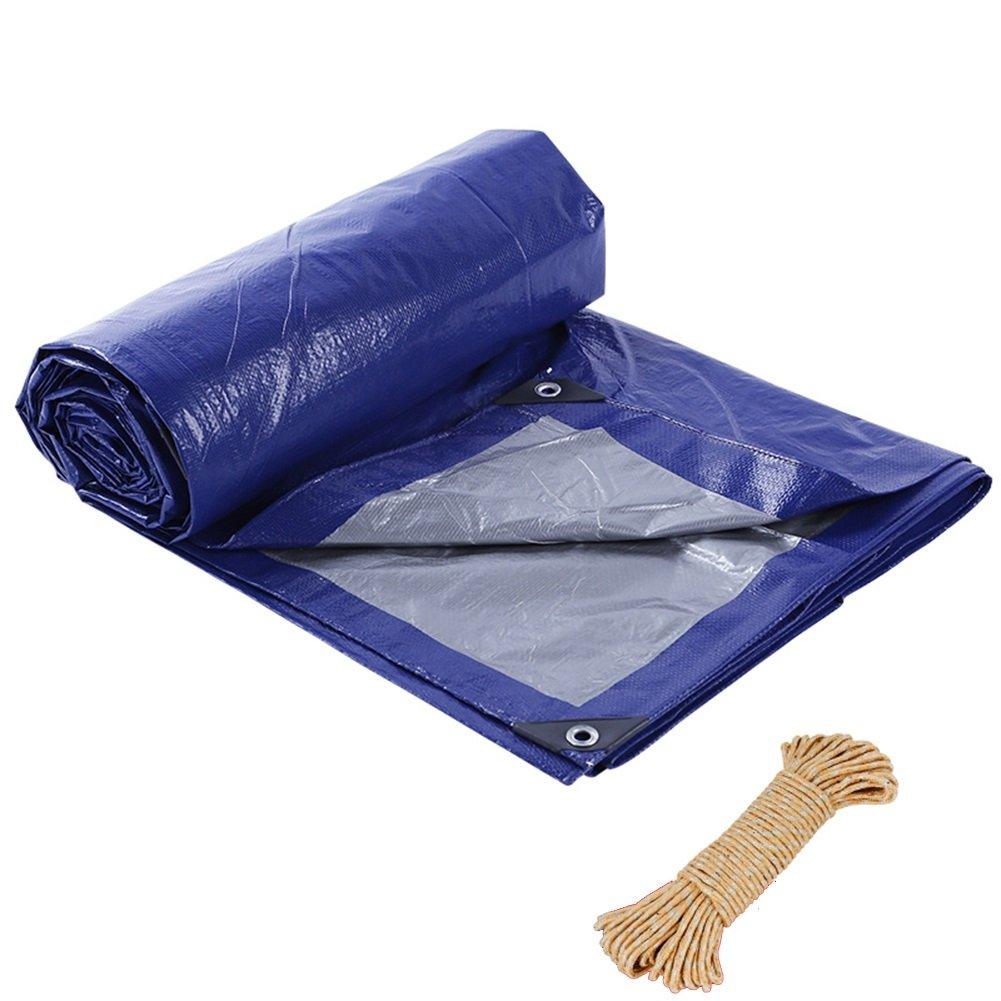 Unbekannt Doppelseitige, Wasserdichte Sonnencreme, Plane Blaugraues Polyethylen Mit Kordelzug, Wasserfester Sonnencreme, Wasserdichte Antistatische Zeltplane 5726e7