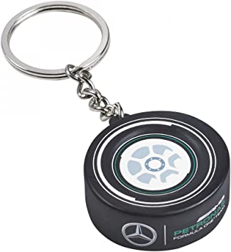 Amazon Com Mercedes Amg Petronas F1 Tire Keychain Automotive