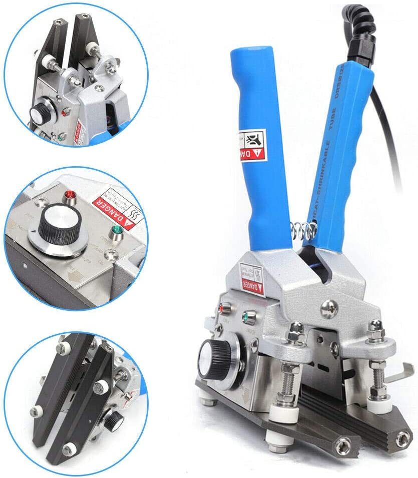 Versiegelungsmaschine FKR-200 Handklemmbare Aluminiumfoliensiegelmaschine Zangendichtung Maschine 300W