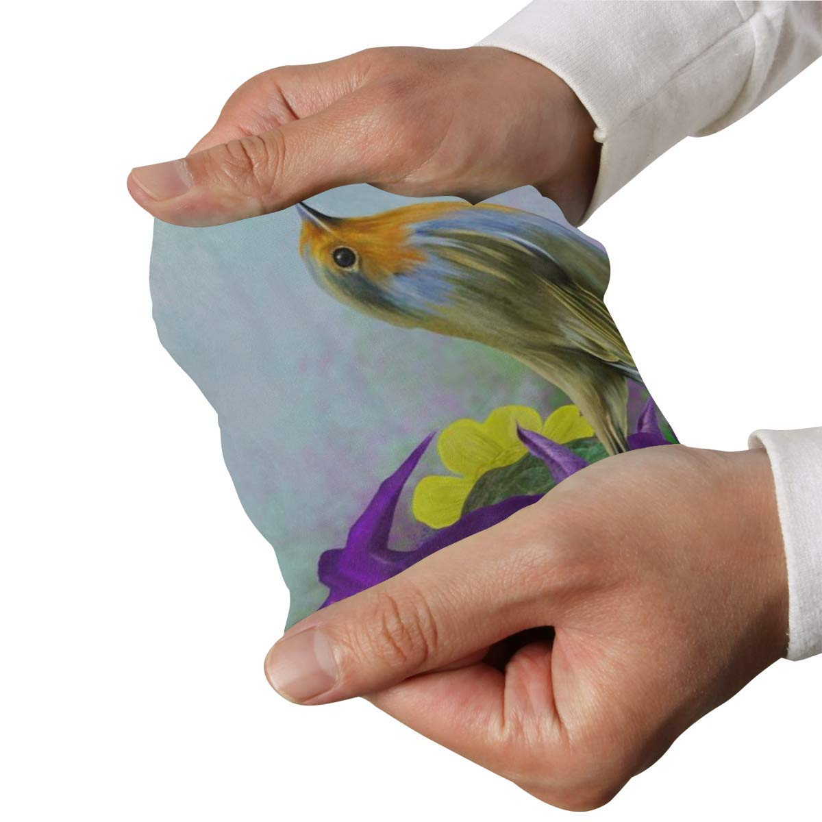 Arm Sleeves Spring Floral Bird Mens Sun UV Protection Sleeves Arm Warmers Cool Long Set Covers