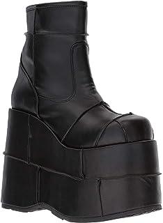 Stack-301 Platform Boot, Silver Glitter