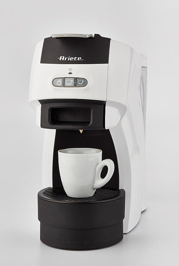 Ariete 1301/00 Cafetera espresso, 1100 W, 600 litros, Blanco ...