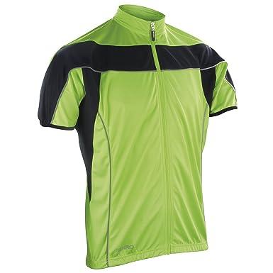 Spiro - T-shirt de sport - Homme multicolore noir blanc  Amazon.fr ... 056b39d6f336