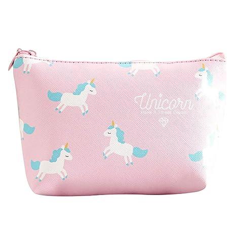 Kanggest.Unicornio Bolsas de cosméticos para Mujer Niña ...