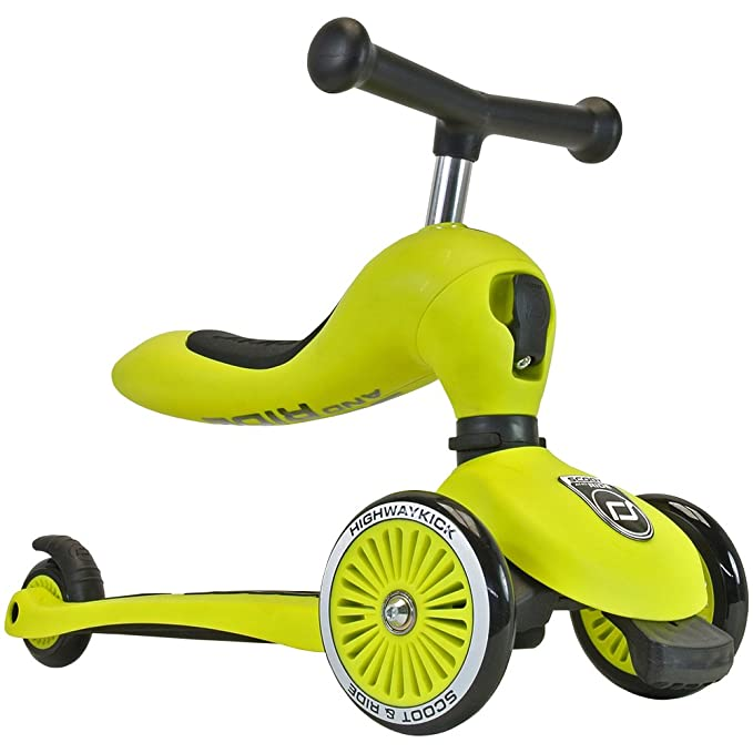 Nikidom Highwaykick One Patinete, Lima, S: Amazon.es: Deportes y aire libre