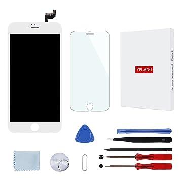 4998bb35dad09a LCD Ecran de Remplacement pour iPhone 6s, Blanc écran tactile Retina  Digitizer Frame Assemblage avec