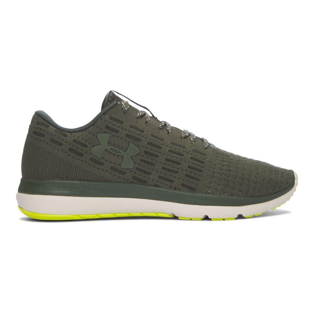 Under Armour Men's Threadborne Slingflex Sneaker B01GOW8S42 7.5 D(M) US|Downtown Green/ White/ Downtown Green