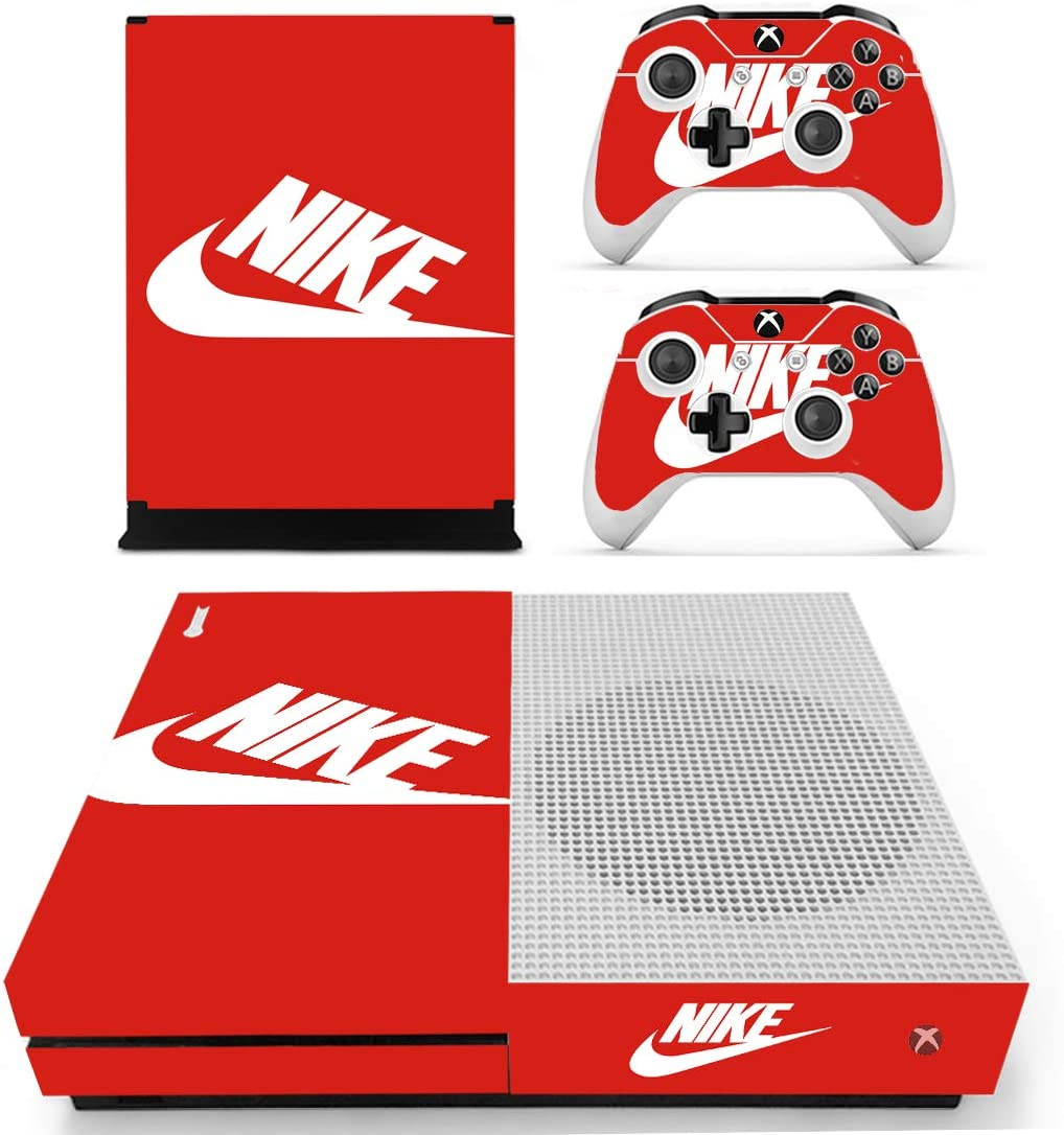 739f62aa7c497 Amazon.com: Adventure Games - XBOX ONE S - Nike Red - Vinyl Console ...