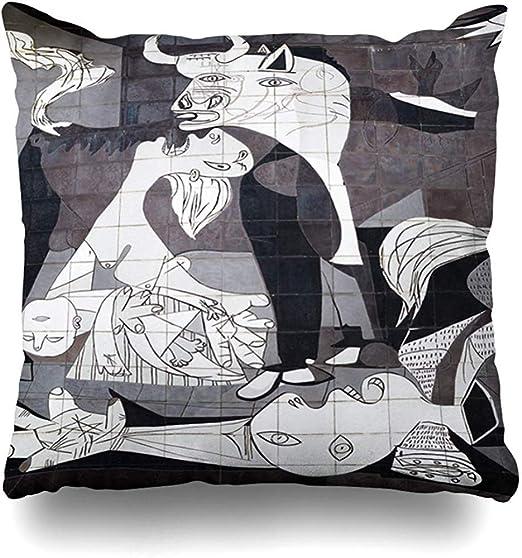 Fundas de cojín Pablo Guernica España 10 de Octubre Museo de Azulejos Parques Picasso Cubismo Abstracto español Pintura Historia: Amazon.es: Hogar